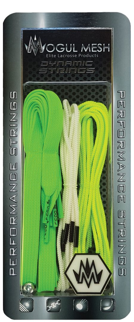 Lacrosse Stringing Kits Neon Green 411