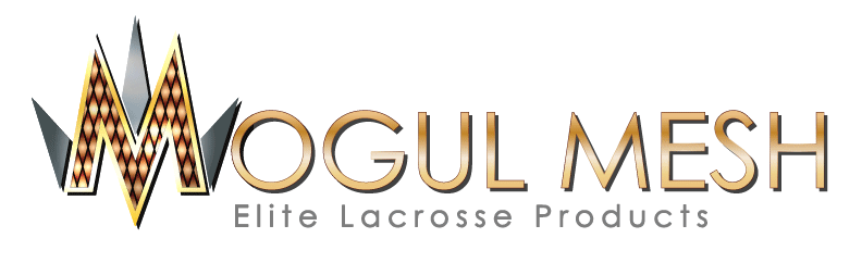 Mogul Mesh Hand Dyed Waxed Infused Lacrosse Mesh Invader Design